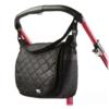 Kép 1/2 - Steppelt táska babakocsira CARETERO fekete