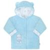 Kép 1/2 - Téli baba kabát New Baby - macis, kék