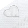Kép 3/3 - Prémium babafészek párnával és paplannal New Baby - fehér, mintás
