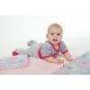 Kép 2/2 - Kétoldalas paplan párna együttes Minky anyag, New Baby teddy bézs