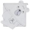 Kép 1/2 - Baba törölköző fürdőkesztyűvel Koala Yogi white