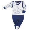 Kép 1/2 - Baba szett Koala- pulóver és rugdalózó, kék
