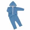 Kép 1/2 - Baba szett New Baby - pulóver és nadrág, kék