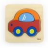 Kép 1/2 - Fa képes kirakó puzzle Viga Autó