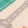 Kép 3/3 - Habszivacs játszószőnyeg PlayTo - város
