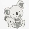 Kép 2/2 - Baba hosszú ujjú póló és nadrág New Baby koala macis