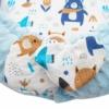 Kép 3/3 - Prémium babafészek párnával és paplannal New Baby - minky anyag, kék