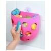 Kép 2/2 - Műanyag fürdőjáték tároló Baby Ono szürke