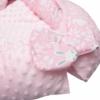 Kép 3/3 - Prémium babafészek párnával és paplannal New Baby - minky anyag, rózsaszín, mintás