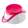 Kép 2/2 - Csúszásgatló tál kanállal Baby Ono rózsaszín