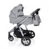 Kép 1/3 - Baby Design Husky multifunkciós babakocsi + Winter Pack - 27 Light Gray 2020