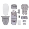 Kép 3/3 - Baby Design Husky multifunkciós babakocsi + Winter Pack - 27 Light Gray 2020