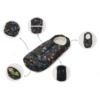 Kép 2/2 - Nuvita AW Carry On 2 az 1-ben bundazsák 80/105cm - Melange Light Gray / Beige - 9845