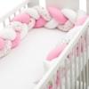 Kép 2/4 - Fonott rácsvédő, madárkás, rózsaszín