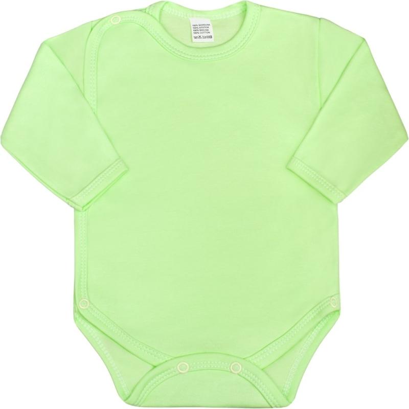 Teljes hosszában patentos body New Baby - Classic, zöld