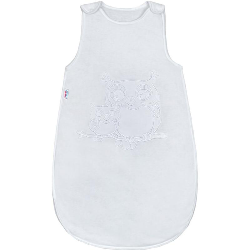 Baba hálózsák New Baby Baglyos fehér