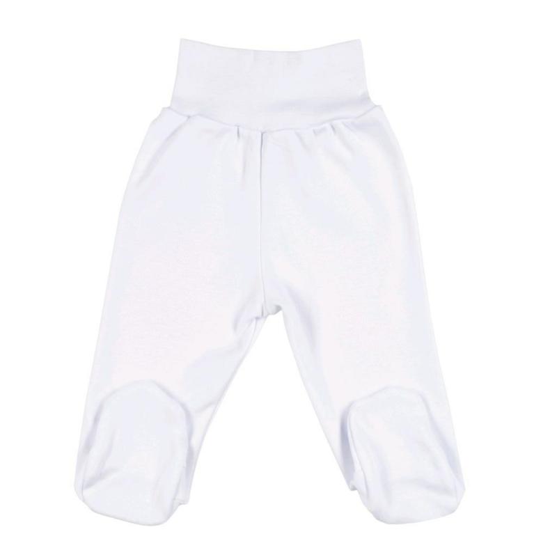 Baba lábfejes nadrág New Baby, fehér