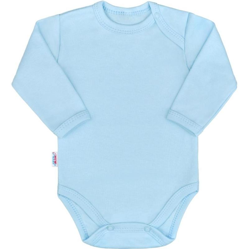 Baba hosszú ujjú body New Baby - Pastel, kék