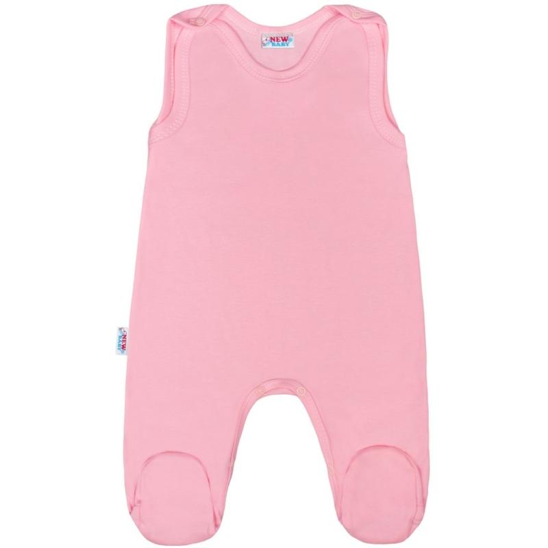Baba rugdalózó New Baby - Classic II, rózsaszín
