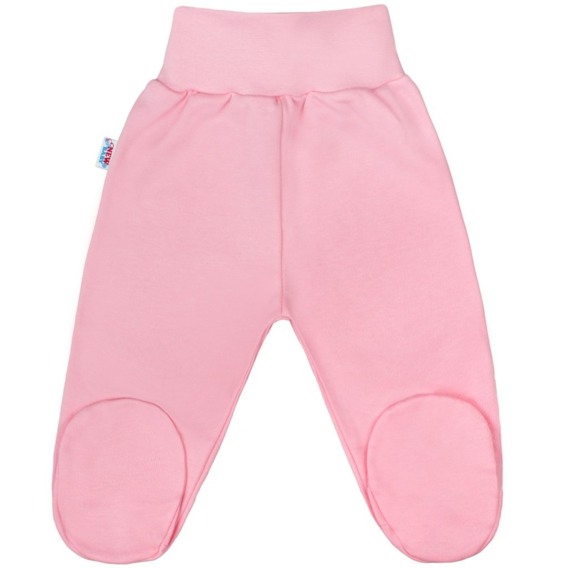 Baba lábfejes nadrág New Baby - Classic, rózsaszín