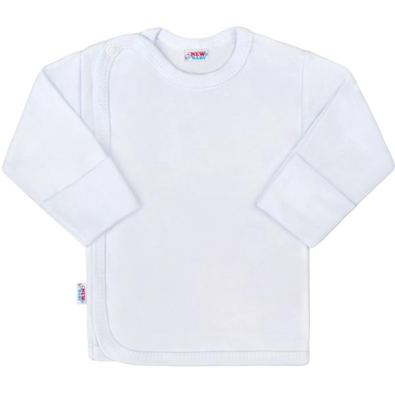 Baba hosszú ujjú póló New Baby - Classic, fehér