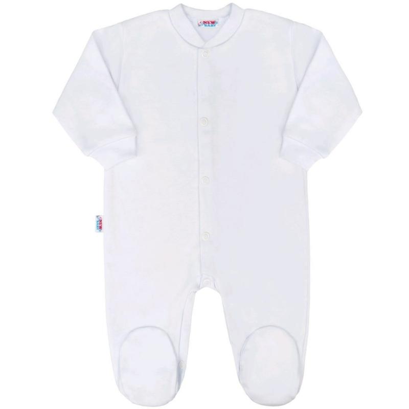 Baba rugdalozó New Baby - Classic, fehér