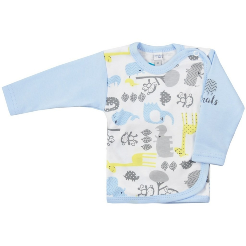 Baba hosszú ujjú póló Koala- mintás, kék