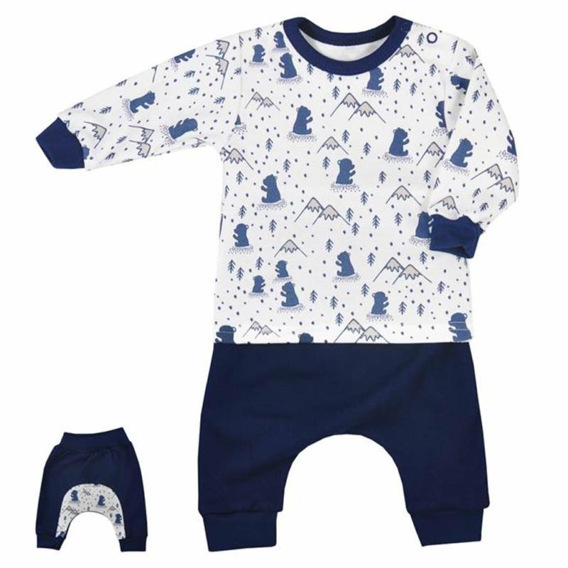 Nadrág és póló Koala- Tajga, kék
