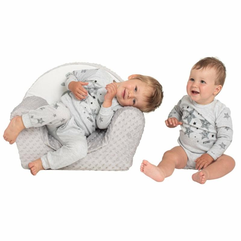 Baba patentos body New Baby csillagokkal