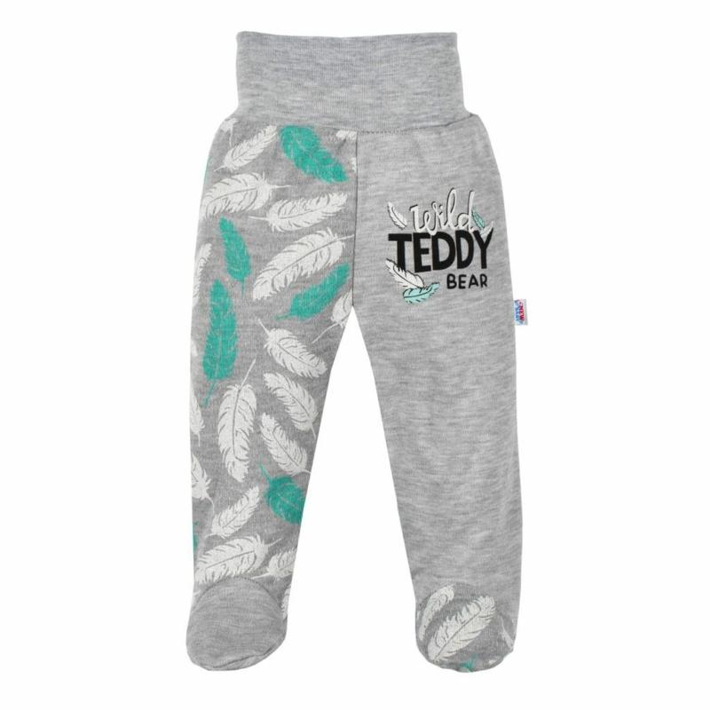 Baba lábfejes nadrág New Baby - Wild Teddy
