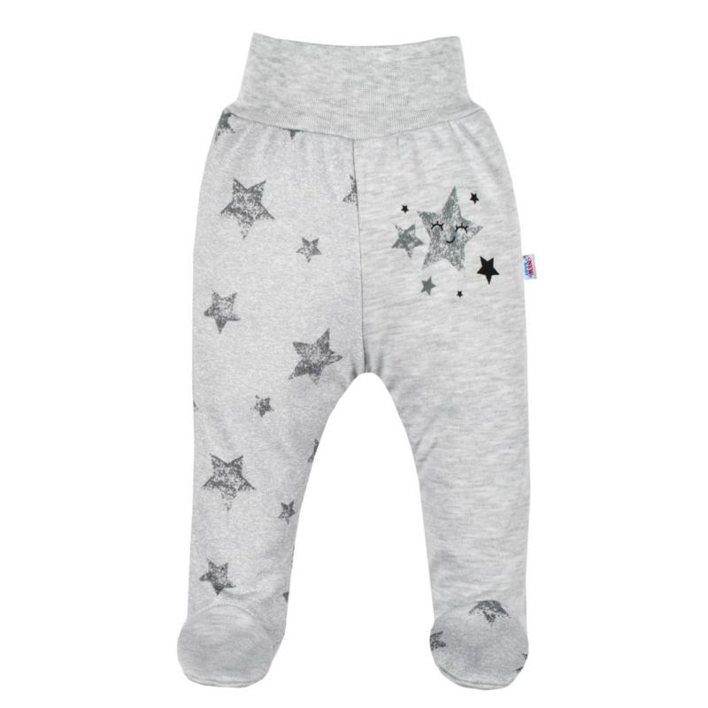 Baba lábfejes nadrág New Baby - csillagokkal