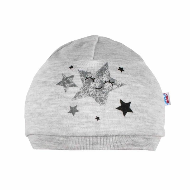 Baba sapka New Baby - csillagokkal