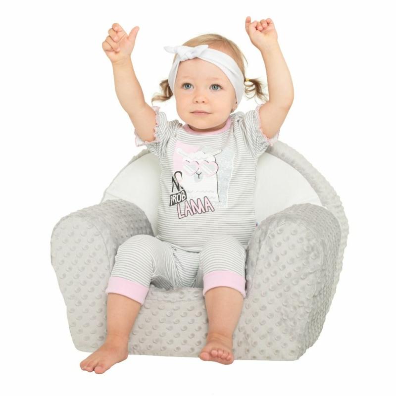 Baba rüvid ujjú póló és nadrág New Baby csíkos mintás