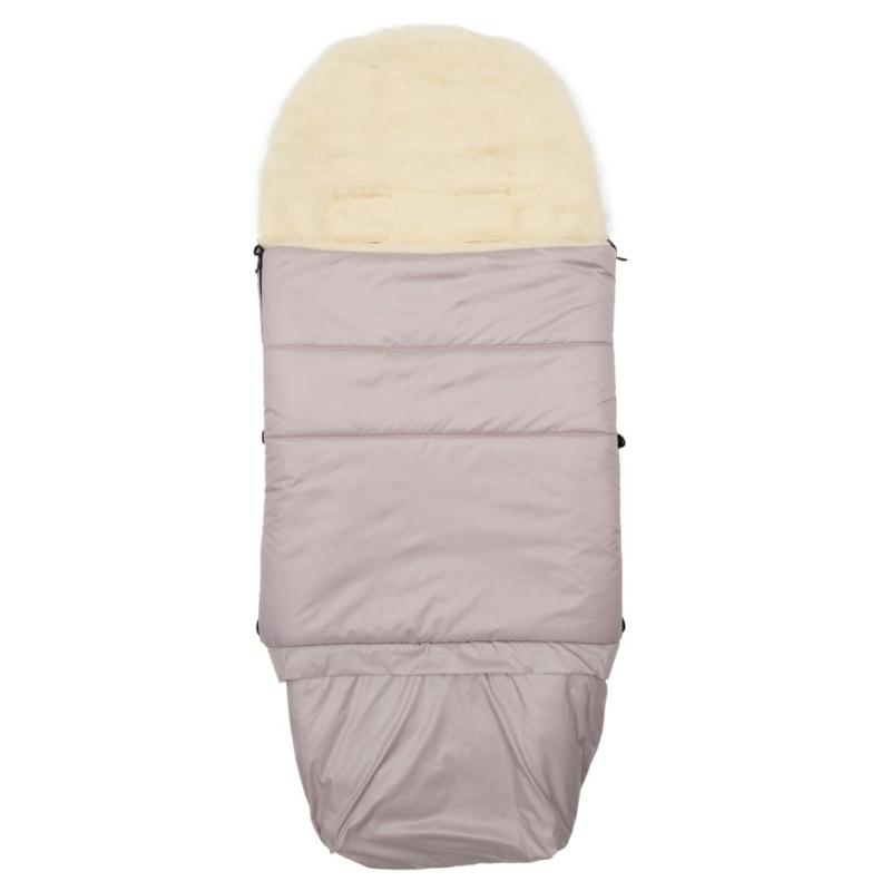 3in1 baba lábzsák NEW BABY, gyapjúval, rózsaszín