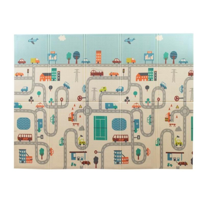 Habszivacs játszószőnyeg PlayTo - város