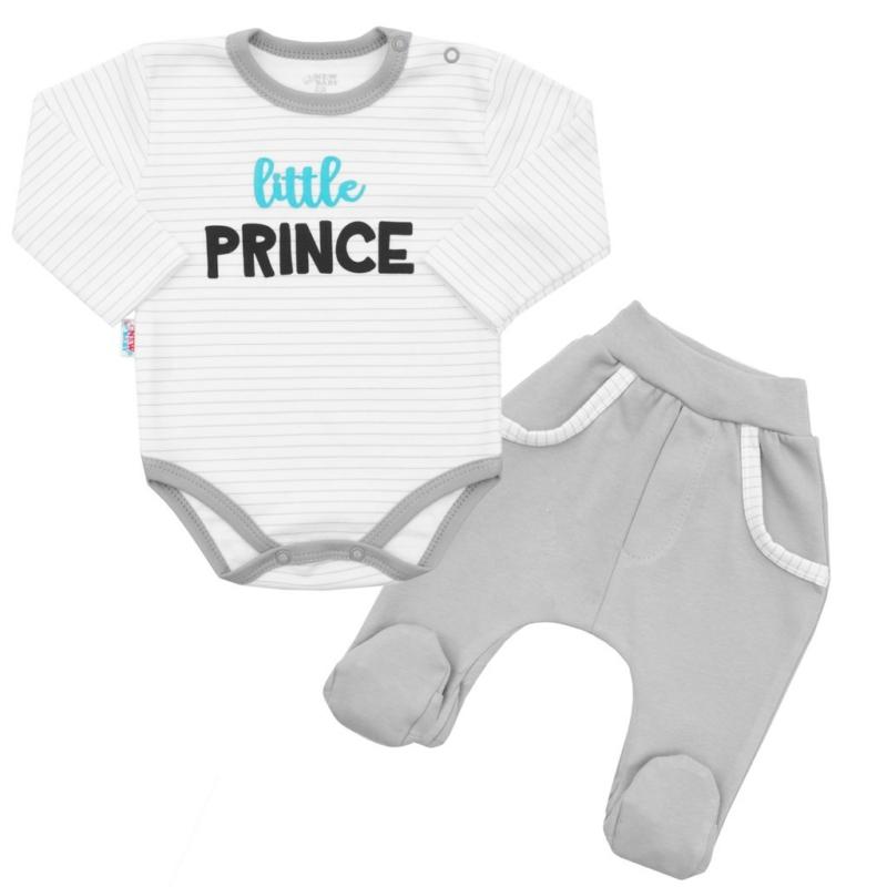 Baba szett New Baby - nadrág és body, Prince