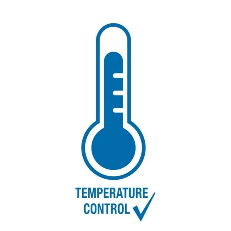 Baba cumisüveg 0-6 hó, hőmérséket elllenőrzővel NUK First Choice kék