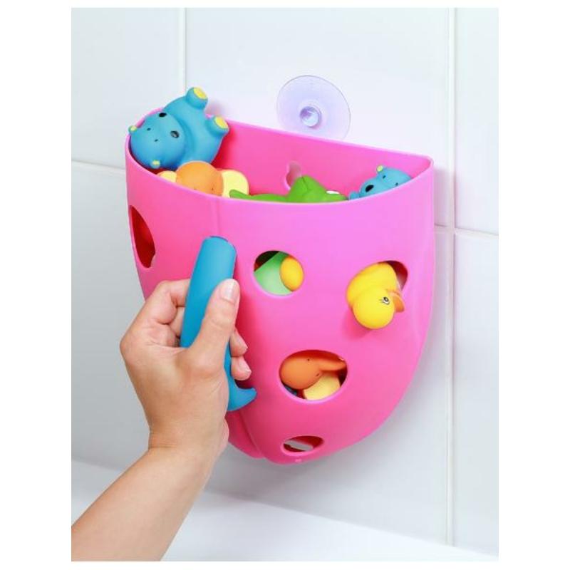 Műanyag fürdőjáték tároló Baby Ono szürke