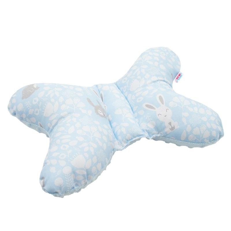 Stabilizáló pillangó párna New Baby Nyuszi kék