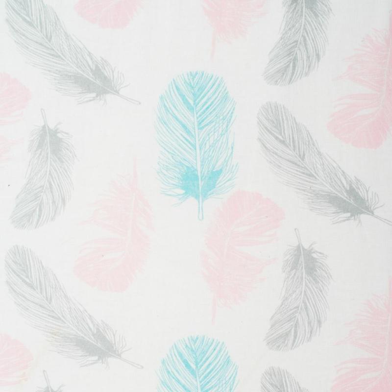Babafészek New Baby - rózsaszín, mintás