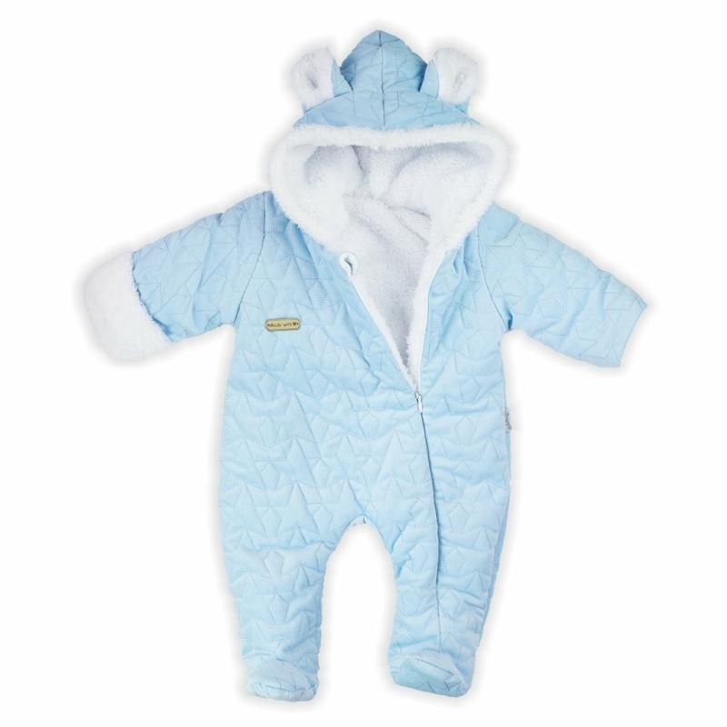 Téli baba overál Nicol - kék