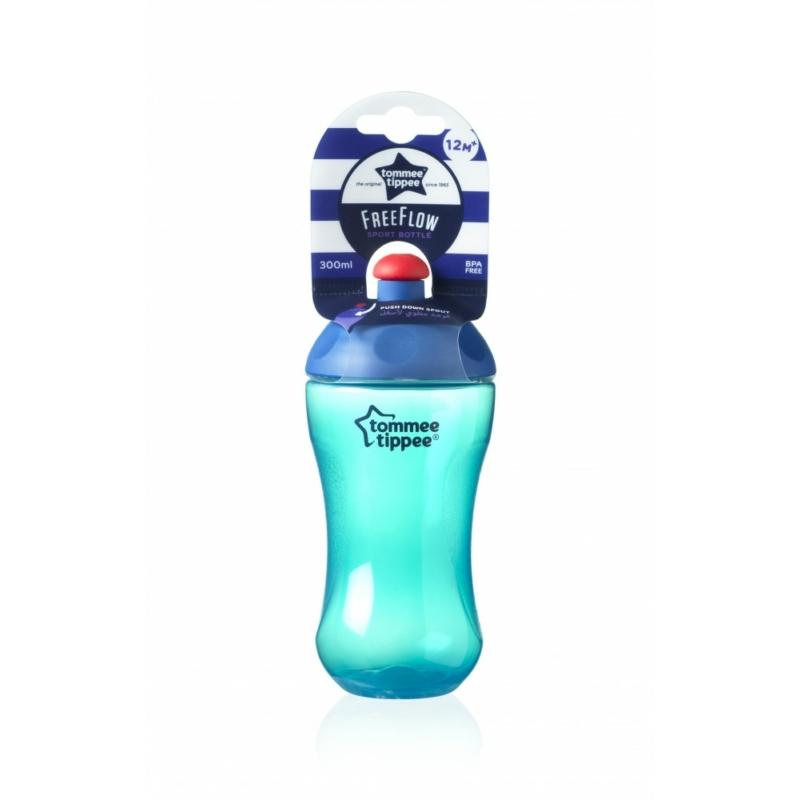 Tommee Tippee FreeFlow Sport Bottle pohár 300ml 12+