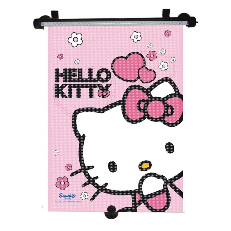 Autós napellenző, rolós Disney, Hello Kitty