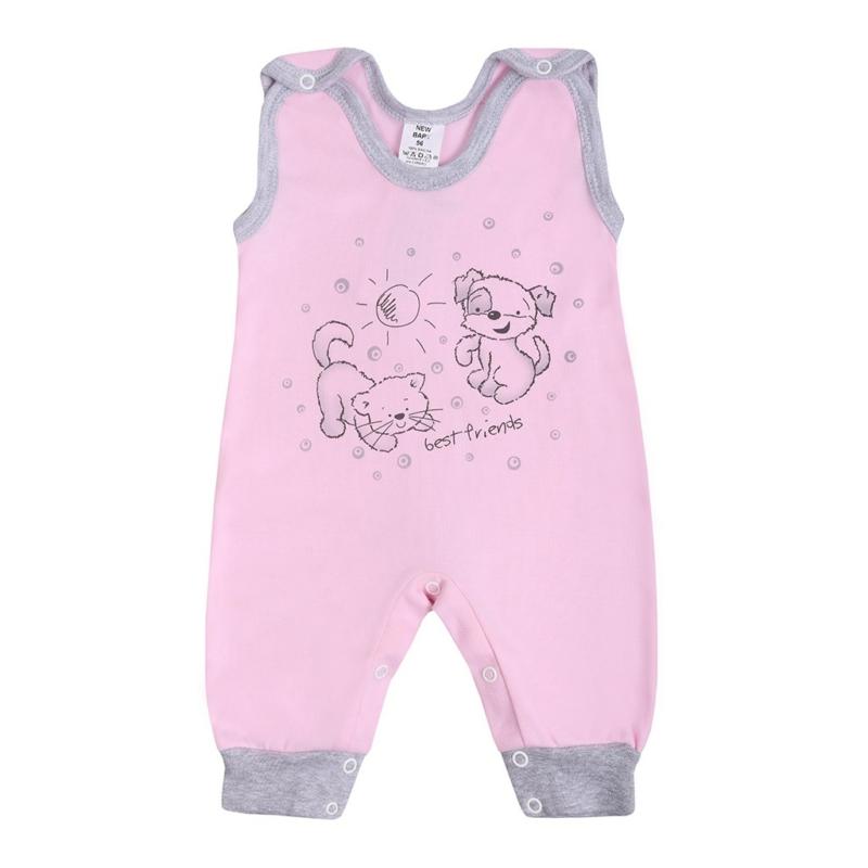 Baba rugdalózó New Baby - Barátok , rózsaszín