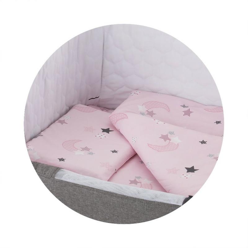Chipolino ágynemű Close To Me kiságyhoz - Pink 2018