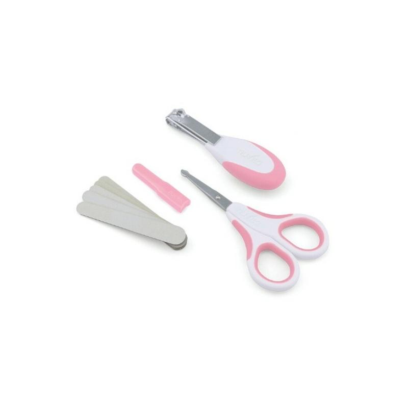 Nuvita körömápolási szett - cool pink - 1138