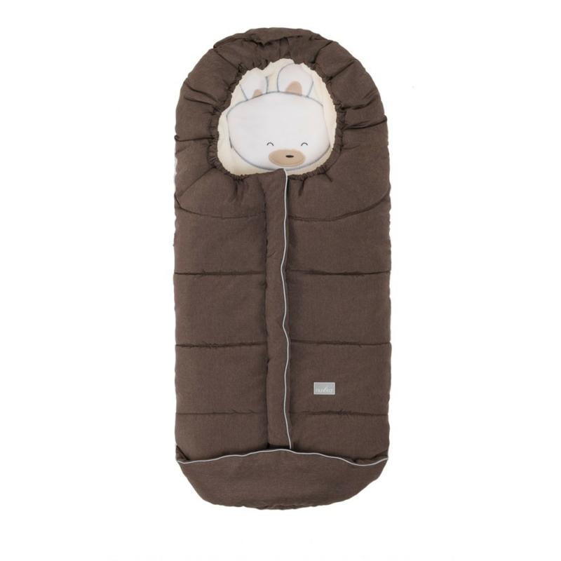 Nuvita AW Junior Cuccioli bundazsák 100cm - Rabbit Melange Brown / Beige - 9605