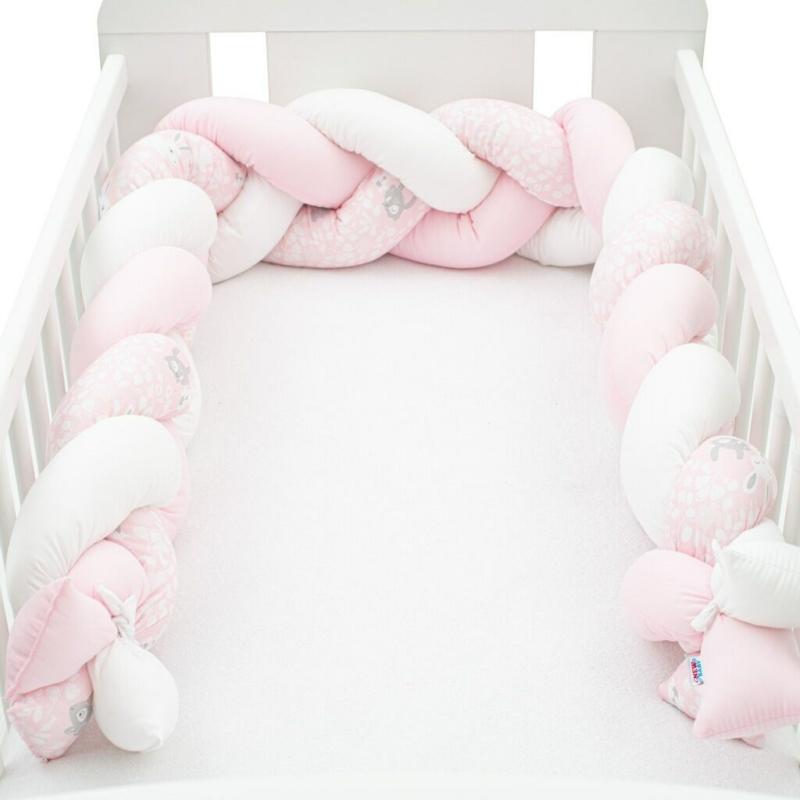 Fonott rácsvédő nyuszis, rózsaszín